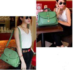bag-green leather 26 jds