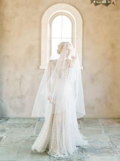 Romantic Wedding Dress   Bridal Veil   Lauren Fair   BHLDN   Rachael Ellen Events   Long Sleeve Wedding Gown Designer Wedding Dresses, Wedding Gowns, Causal Wedding Dress, Wedding Inspiration, Wedding Ideas, Bridal Veils, Long Sleeve Wedding, Bhldn, Bridal Portraits