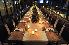 Place settings. While We Were Out: Blue Hill at Stone Barns - News from the Lonny Team - Lonny