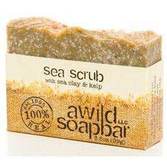 Sea Scrub Organic Bar Soap! $5.15