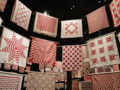 Infinite Variety: Three Centuries of Red and White Quilts
