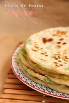Crêpes chinoises Asian Recipes, Healthy Recipes, Ethnic Recipes, Quiche, Fusion Food, Winter Food, Food Cravings, Entrees, Meal Prep