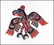 Haida carving from BC Canada
