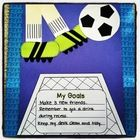 Miss Kindergarten Love: Have your students kick off a great new year with this fun soccer themed craft. Students will also write their goals for the new year {can be used . New Years Activities, Back To School Activities, Writing Activities, Classroom Activities, Classroom Ideas, Reading Resources, Classroom Displays, Holiday Activities, Beginning Of The School Year