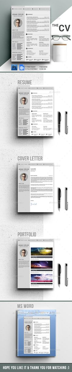 #Resume  - Resumes Stationery Download here: https://graphicriver.net/item/resume-/17689937?ref=alena994
