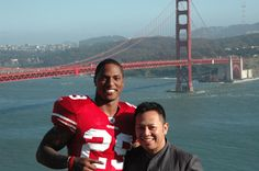 Chris Culliver from 49ers in Daniel Sudar's Suit