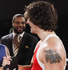 Justin Trudeau, future Prime Minister of Canada, at a charity boxing event. Justin Trudeau Tattoo, Canadian Tattoo, Trailer Park Boys, Birthday For Him, Dream Tattoos, Custom Tattoo, Prime Minister, Pop Culture, Leadership
