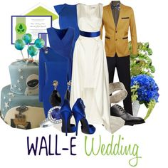 """""""Wall-E Wedding"""" by jami1990 on Polyvore"""