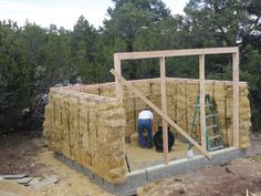 How to build a Straw Bale Greenhouse