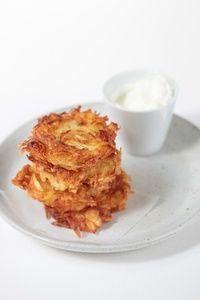 Potato Pancakes: Spanning the Great Divide