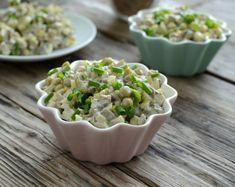 Sałatka pieczarkowa z zielonym groszkiem: Składniki:… na Stylowi.pl Mushroom Salad, Green Peas, Appetisers, Coleslaw, Appetizer Recipes, Potato Salad, Mashed Potatoes, Cabbage, Stuffed Mushrooms