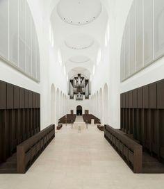 St.Moritz church remodelling_John Pawson