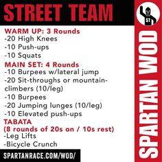Spartan WOD