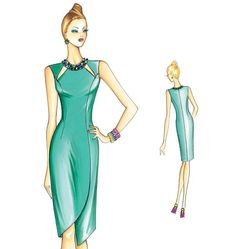 F3165 | Marfy Dress | Dresses | McCall's Patterns