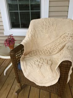 This hand-crochet Tree of Life afghan helps keep your tootsies warm while reading a book or watching TV on a cold night. Throw it over your daily bedspread for a little extra warmth on those cold winter nights or use it by itself as a throw for cool fall days. This afghan has 3 sections,