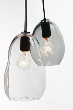 THE BUBBLE PENDANT IS THE DEFINITION OF UNIQUE. Each glass shade is hand-blown in the San Francisco Bay area to mimic the organic shape of bubbles with a stunning ever-changing play of light. Each undulation is hand placed for sculptural quality making each one absolutely one of a kind. hammersheels.com