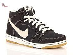 Nike  705434 002, Dunk CMFT homme - Noir - noir, 40.5 EU - Chaussures nike (*Partner-Link)