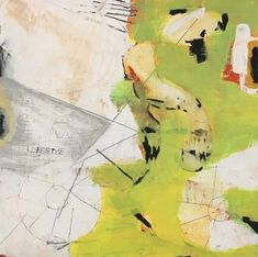 """Are You Riding Life, Or Is Life Riding You? by Amanda Saint Claire Mixed Media ~ 12"""" x 12""""-Contemporary Art, Abstract,Expressionism, Studio 9 Fine Art """" Are You Riding Life, or is Life Riding You?"""" by International Abstract Artist Amanda Saint Claire"""