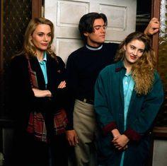 Peggy Lipton, Dana Ashbrook, Madchen Amick, 1989.