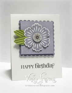 The Stamping Idea Corner: July Club Projects