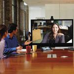 Video communications systems offer a solution for face-to-face meetings for businesses with widespread workforces. PHOTO: VIDEO GUIDANCE