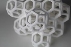 3D printed sugar sculptures | The Sugar Lab by architects Kyle and Liz von Hasseln