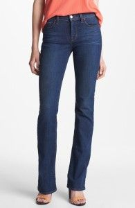 How to keep your denim in great shape! J Brand 'Low Break' Bootcut Jeans (Waltz)