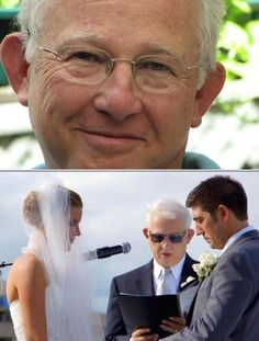 Michael Fenton is among the best officiants who provide personalized services for the couple getting married. He performs interfaith weddings, same-sex marriages, and more. He has reasonable rates. Click this pin to get a free quote.