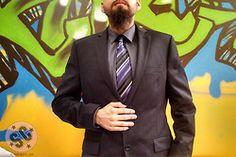 #Tie #Suit #Graffiti #Beard #Beards