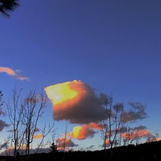 Lit lit little fluffy clouds #theOrb #littleFluffyClouds #naturePhotography