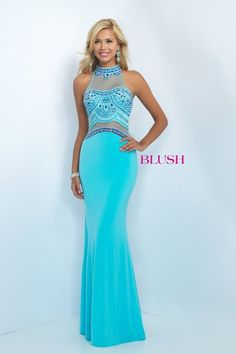 Blush 2016 Style 11079 Available at Bridal and Formal's Club Dress 300 W. Benson Cincinnati OH 45215