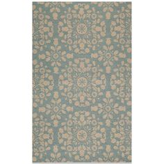 Momeni Suzani Hook Rug in Blue
