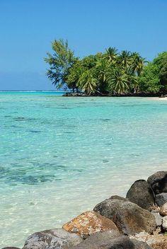 Lagon Moorea - Polynésie française