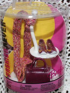 Barbie Fashion Fever Ruby Accessories Hat Scarf Purse   eBay