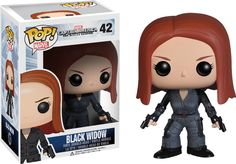 "From the second instalment of the Captain America movie franchise, The Winter Soldier, comes this awesome Black Widow Pop! Vinyl Figure! Your favourite Russian spy turned S.H.I.E.L.D agent looks fantastic as this 3.75"" Pop! Vinyl Figure. Add her to your Marvel collection today! Proudly brought to you by Popcultcha - Australia's largest and most comprehensive Pop! Vinyl Online Store. Click here to see our full range of Pop! Vinyl collectables."
