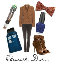 Really cute Eleven outfit. One of the best I've seen, actually.