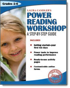 Laura Candler's Power Reading Workshop: A Step-by-Step Guide is a resource for teachers who want to learn how to get reading workshop started quickly and easily.