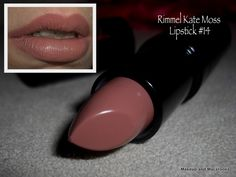 Rimmel London Kate Moss Collection -- Lipstick 14 -- Perfect nude lippie for tan complexions :)