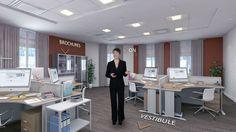 Espace collaborateurs réalisé dans le cadre de la Visite virtuelle du pôle LCL Banque Privée