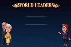 I was done with politics until this game came along! Try World Leaders Slot for free and win a jackpot or two!