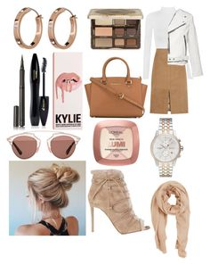 """🍁"" by dilya-kadyrova ❤ liked on Polyvore featuring WearAll, J.Crew, MICHAEL Michael Kors, Marc Jacobs, Too Faced Cosmetics, Christian Dior, Lancôme, Burberry, L'Oréal Paris and BOSS Hugo Boss"