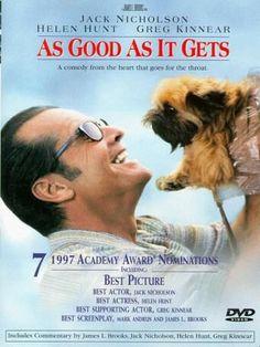 """""""As Good As it Gets"""" Jack Nicholson, Helen Hunt & Verdel"""
