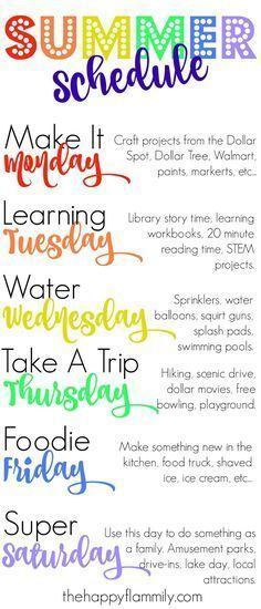 Our Weekly Summer Schedule. Summer schedule for kids. Summer schedule for toddlers. What to do this summer. Our Weekly Summer Schedule. Summer schedule for kids. Summer schedule for toddlers. What to do this summer. Summer Activities For Kids, Summer Kids, Fun Activities, Therapy Activities, Play Therapy, 3 Kids, Speech Therapy, At Home Toddler Activities, Arts And Crafts For Kids For Summer