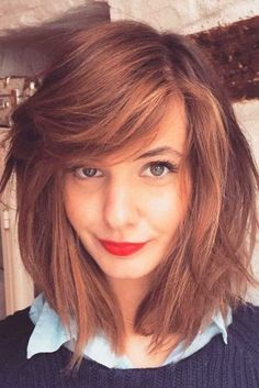 Bob Haircuts with Thick Bangs picture2