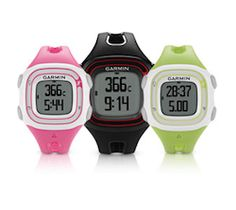 Garmin GPS Watch, an unlikely competitor emerging - Watch is geared toward runners' to track their route