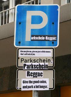 Parkschein Reggae | Testspiel.de