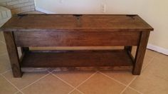 Wood storage bench, seat. furniture , reclaimed , rustic , wood , pine , diy homemade , unfinished , cabinet , cupboard Kids , childs , children , childrens