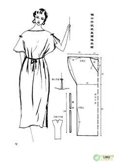Простая выкройка платья-сарафан: Шьем сами: Группы - diets.ru