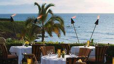 Ferraro's Restaurant, Wailea where we celebrated my last birthday with a sunset dinner