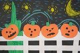 Starry Night Pumpkins